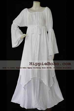 Plus Size White Dress with Sleeves