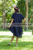 No.003  - Size XS-5X Hippie Boho Bohemian Gypsy Swing Tunic Plus Size Dress Clothing Summer Sundress