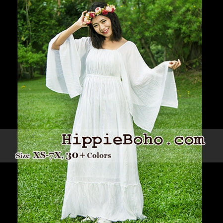 No.333 - Size XS-7X Hippie Boho Wedding Dresses, Plus Size ...