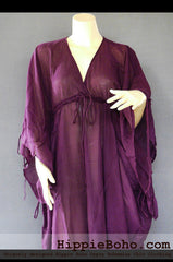 No.501 - Mixed Silk Elegant Sophisticated Curvy Plus Size Boho Hippie Maxi Dress