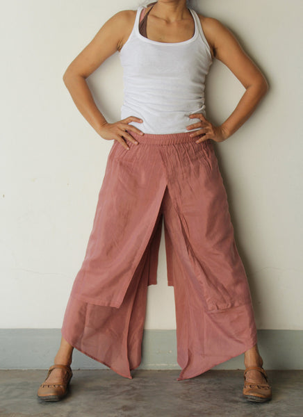 Pants...mix silk all color available...1192