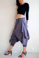 Pants... skirt over pants...No.19 mix silk( GP-355)