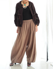 Pants/Extra length cotton pants 135(C) 100% cotton (tall)