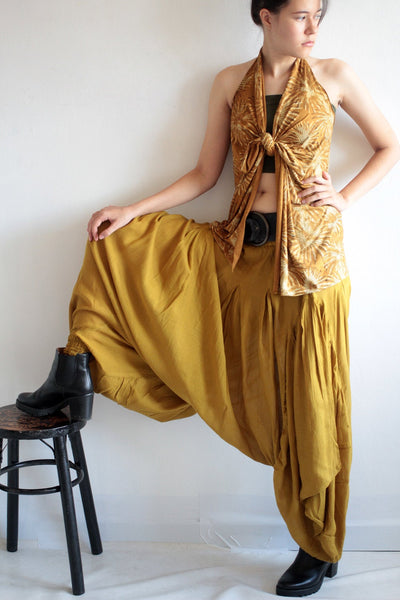 Pants...Hippie funky pants / funky pants / wide pants  Available in size  M, (1135)