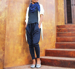 Pants..Funky pants...Jersey cotton Indigo and all colour in  Three size (M,L,XL,) p1412