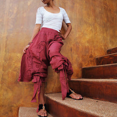 Pants/Funky harem pants...Mix silk available in all colour /Funky pants /hippie pants / long pants /  (3 sizes M,L,XL)(1128)