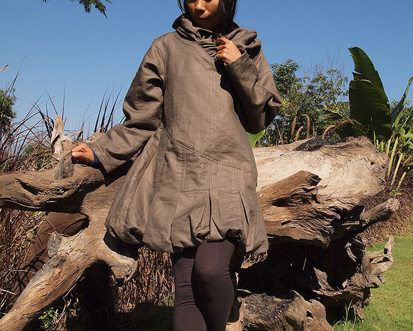 Winter coat Khaki Size S,M 424