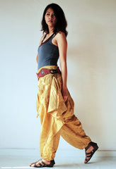 Pants..Funky harem pants (1463) Mix silk available in all colours