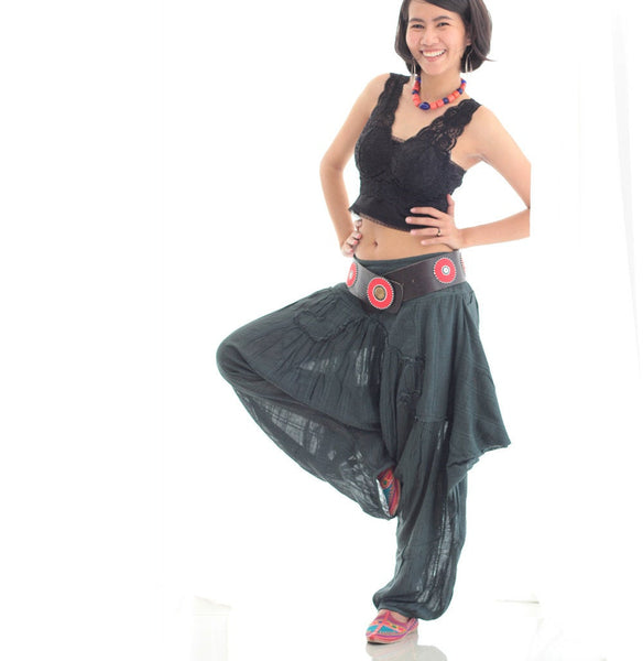 Pants/Funky harem pants 2 Mix silk available in all colours  1463/Funky / hippie / long pants