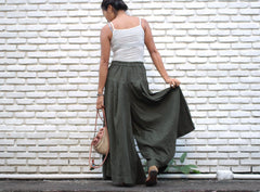 Pants/Wide leg pants cotton 100% and 3 sizes, All colours available(1425)