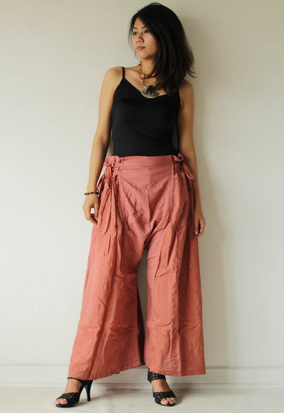 pants/Wild side pants... mix silk ( M,L) 244