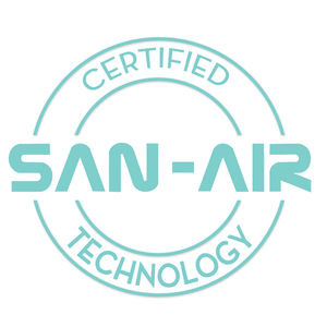With SAN-AIR  your air is green and clean