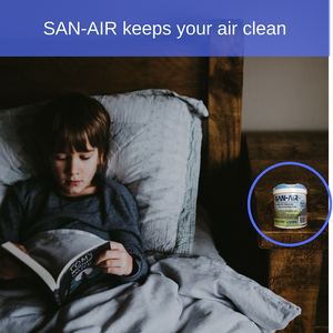 Keep your air clean, even when there is illness around
