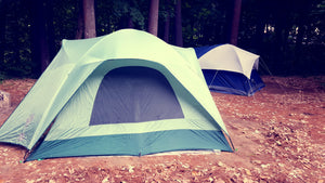 Clean your camping equipment from toxic mould ready for your clean fresh air trip.