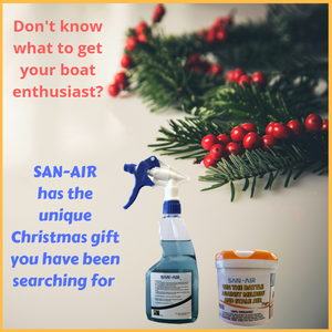 Remove mould from your boat without toxic chemicals