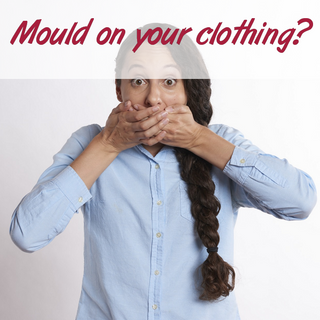 Mould on your clothing