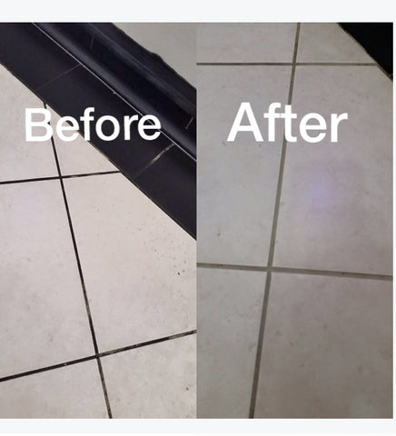 Grout clean