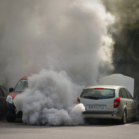 Car smoking
