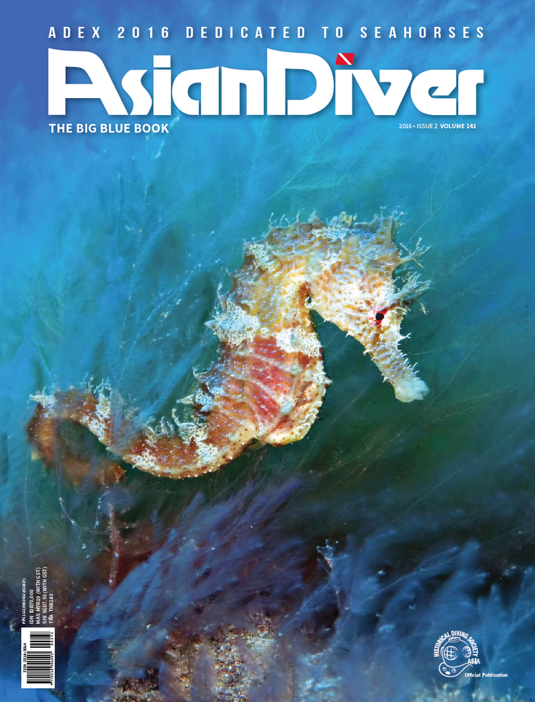 Asian Diver Issue 2/2016 (141) **Limited Quantity**
