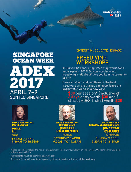 ADEX 2017 Freedive Workshop Tickets