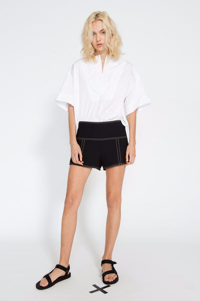 COCONUT CROPPED SHIRT