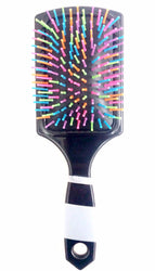 Neon Bristle Paddle Brush