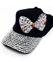 Black Bejeweled Hats