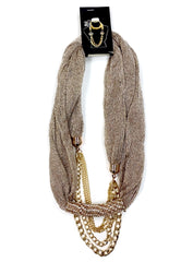 Metallic Fashion Scarfs