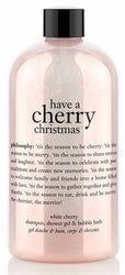 Have A Cherry Christmas Shampoo, Shower Gel, and Bubble Bath