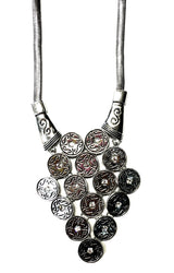 Fashion Coin Pattern Necklace