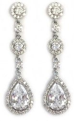 CZ Victorian Earrings