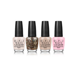 OZ Mini Nail Lacquer Collection of 4 Polishes