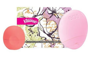 Lip Balm, Hand Lotion and Kleenex Set