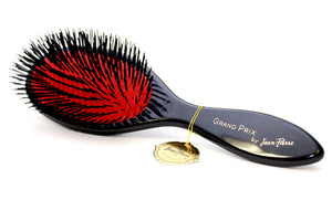 Grand Prix Black Nylon Hair Brush