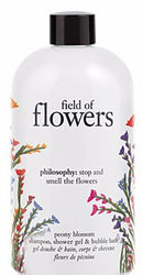 Field of Flowers Peony Blossom Shampoo, Shower Gel, and Bubble Bath