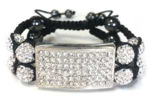 Double Layered Shamballa Bracelet