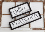 Custom Handmade Wooden Sign - Customize for Your Name!