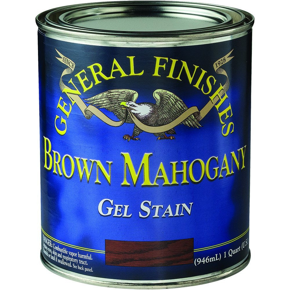 General Finishes Brown Mahogany Gel Stain