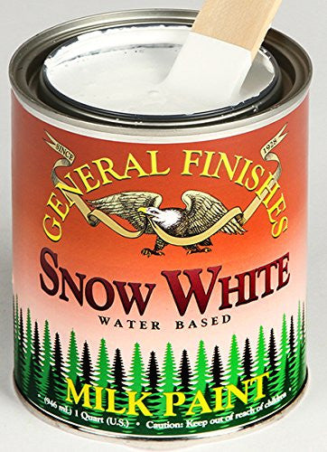 General Finishes Snow White Milk Paint
