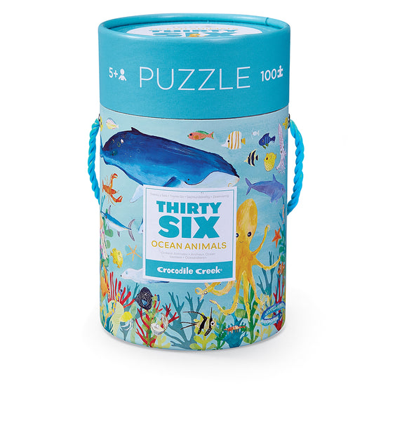 36 Animal Puzzle 100 pc / Ocean Animals
