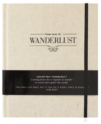 Swept away by Wanderlust / Travel Journal
