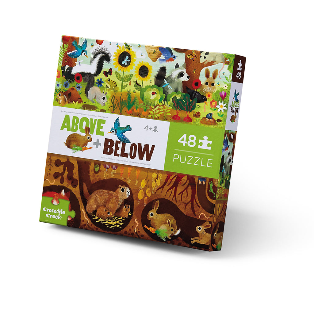 Above & Below Puzzle 48pc / Backyard Discovery