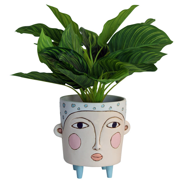 Poly Blue Planter