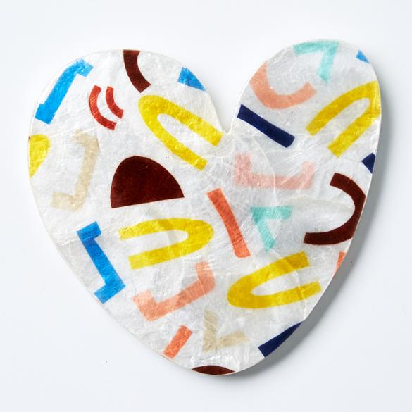 Allsorts Heart Wall Art