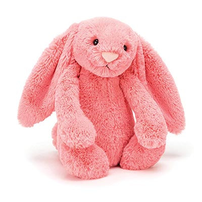 Small Bashful Bunny / Coral