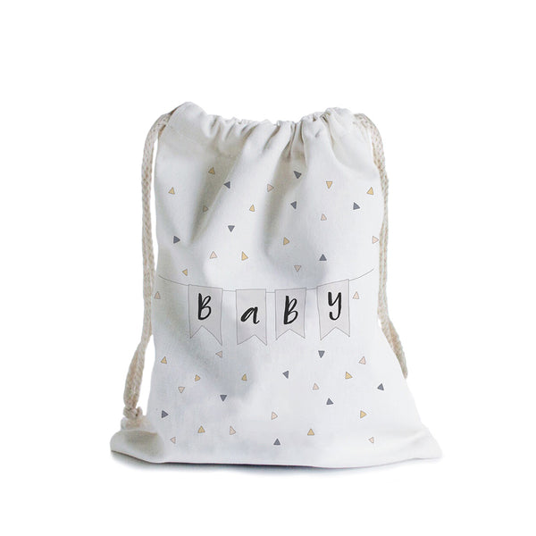 Canvas Gift Bag / Baby Bunting