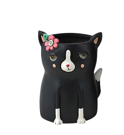 Black Cat Planter / Small