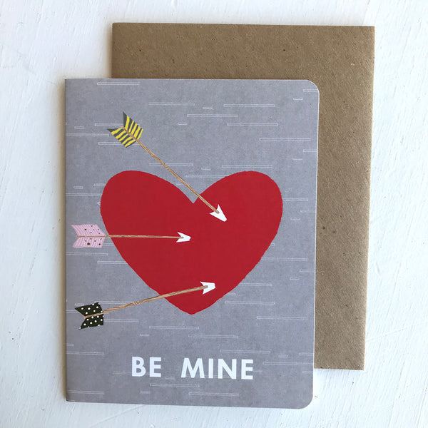 Greeting Card / Be Mine