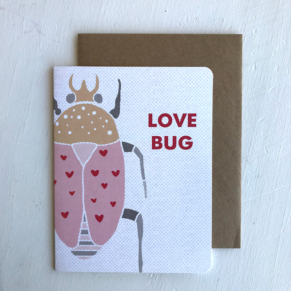 Greeting Card / Love Bug