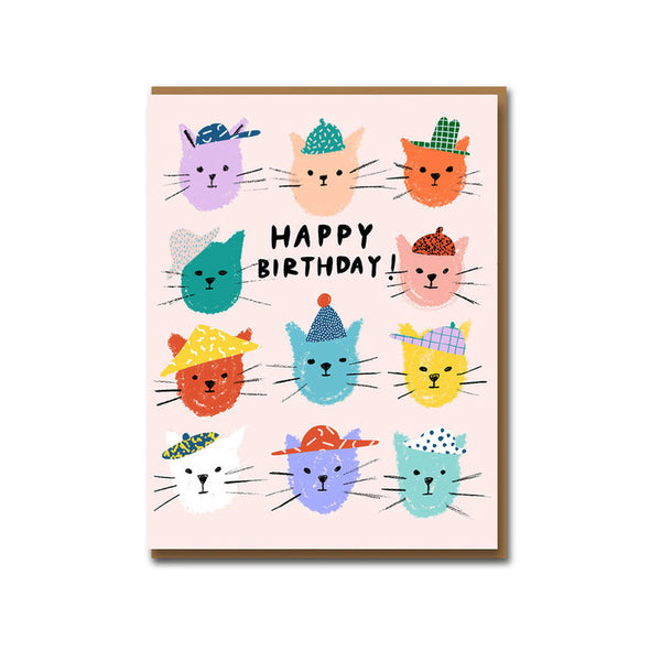 Birthday Card / Catpals